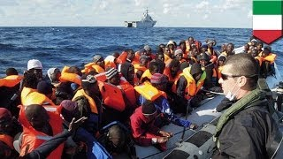 Lampedusa Italy  city photo : Italy rescues 1,100+ migrants south of Lampedusa