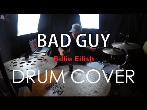 BAD GUY - BILLIE EILISH - DRUM COVER // Logan Brewster //