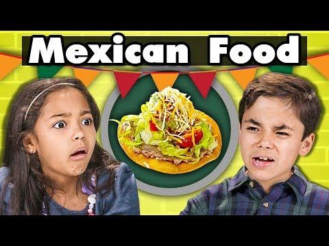 KIDS EAT MEXICAN FOOD | Kids Vs. Food