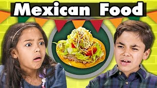 Video KIDS EAT MEXICAN FOOD | Kids Vs. Food MP3, 3GP, MP4, WEBM, AVI, FLV Desember 2018