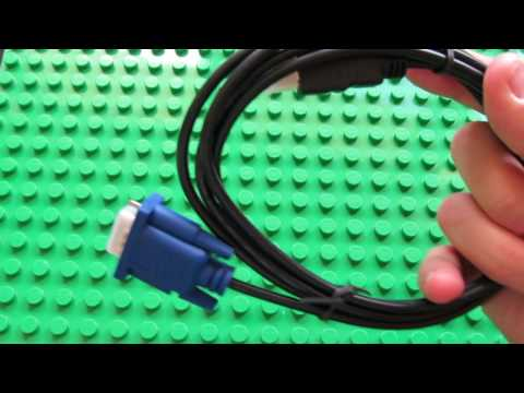 Unboxing 1.8M HDMI to VGA Cable
