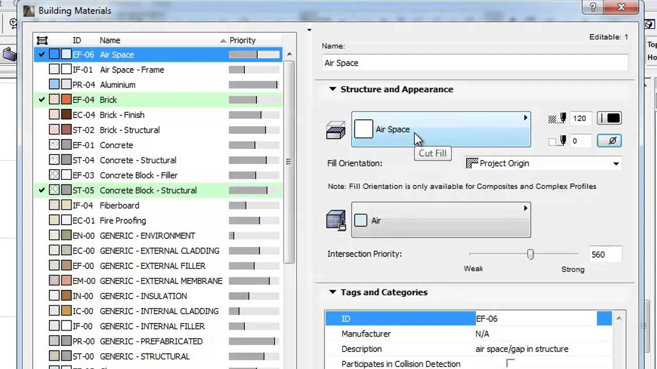 ビルディングマテリアル: 2Dにおける透過 拡張機能