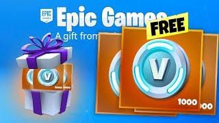 Epic just gave FREE Fortnite VBUCKS before SEASON 7...
