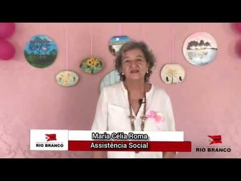 Outubro Rosa - Maria Célia Roma Assistente Social