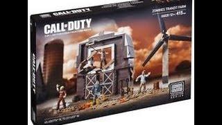 """MEGA BLOKS Call Of Duty """"Zombies Tranzit Farm 06828"""" Time Lapse"""