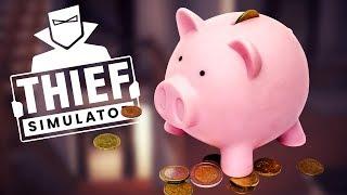 When A Home Invader Steals A Piggy Bank In Thief Simulator