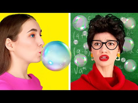 RICH HACKS VS NORMAL HACKS | Funny Games at School! Smart Hacks For Every Occasion by 123 GO! SCHOOL