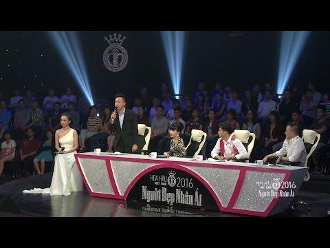 Trấn Thành, Xuân Bắc, Huyền My tranh cãi quyết liệt để 'bảo vệ' thí sinh Người đẹp Nhân ái 2016