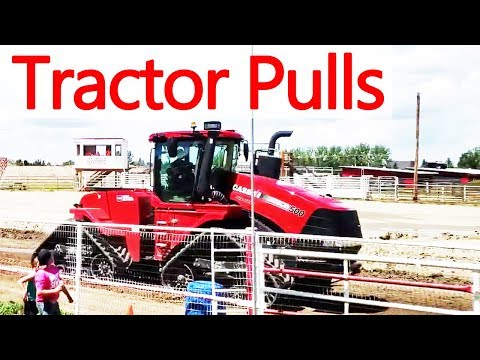 CASE vs New Holland vs John Deere | Tractor Pulls, Tractor With Tracks