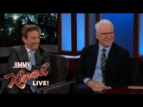 Jimmy Kimmel's FULL INTERVIEW with Steve Martin & Martin Short