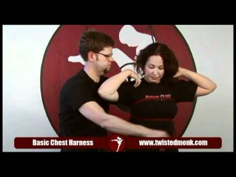 How to tie a basic chest harness with Twisted Monk