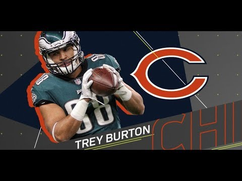 Bears sign Ex-Eagle Trey Burton to a 4 year 32 mil deal | Eagles trade in DT Haloti Ngata