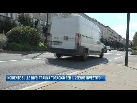 07/09/2020 - INCIDENTE SULLE RIVE: TRAUMA TORACICO PER IL 29ENNE INVESTITO