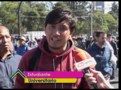 Minga de limpieza en Quito
