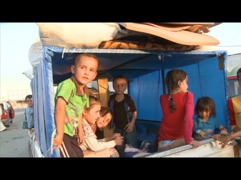 Iraqi refugees risk all to escape ISIS