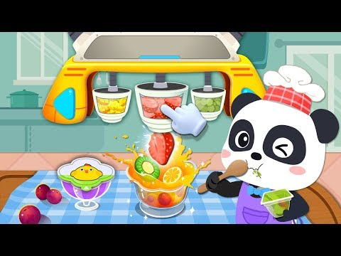 Little Panda's Snack Factory | Ice Cream | Cooking Game | Kids Games | Game Trailer | BabyBus