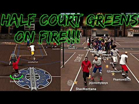NBA 2K17 MyPark - RUNNING UP THE GREENS FROM DEEP W/ JUICEMAN AND PHANTOM SLICE | 11 GAME WIN STREAK (видео)