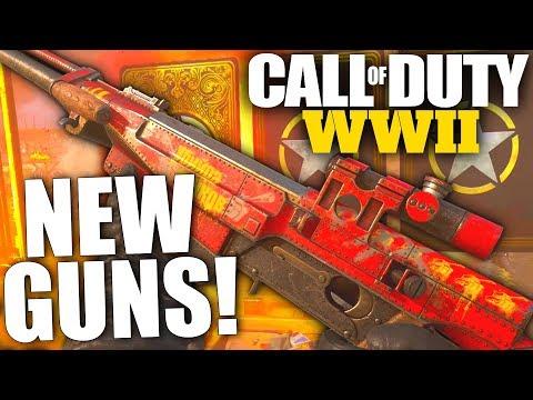 wapens cod ww2