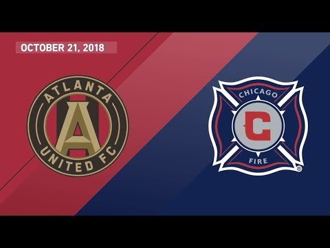 Video: HIGHLIGHTS: Atlanta United FC vs. Chicago Fire | October 21, 2018