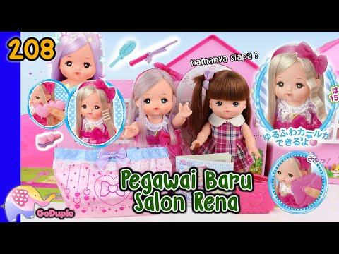 Mainan Boneka Eps 208 Pegawai Baru Salon Rena - GoDuplo TV