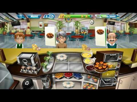 "Cooking Fever Gameplay ""Bakery"" Levels 26-30 (Pastelería)"