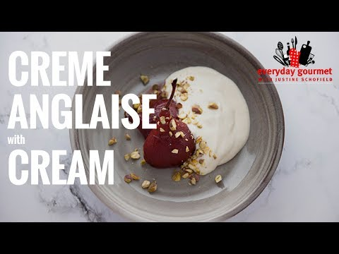 Creme Anglaise with Cream – Bulla | Everyday Gourmet S6 E89