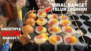 Video INOVASI BIKIN OMZET WOW !! TELURNYA VIRAL DI BIKIN EGG SATAY | PONTIANAK STREET FOOD #384 MP3, 3GP, MP4, WEBM, AVI, FLV Januari 2019