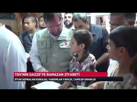 Türkiye Diyanet Vakfı bu Ramazan da Gazzeyi unutmadı.