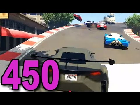 Grand Theft Auto 5 Multiplayer - Part 450 - Epic Stunt Racing!