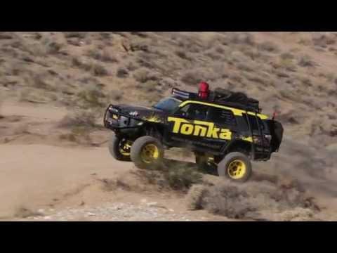 Tonka 4Runner - monster truck jak zabawka na stoiskuToyoty | SEMA 2015