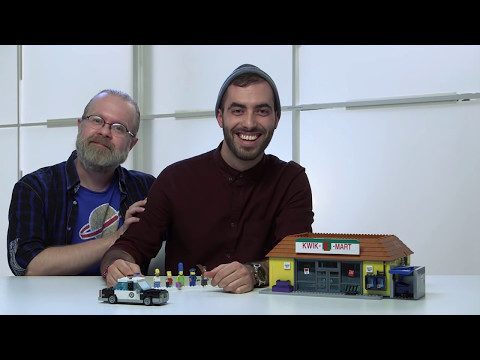 LEGO Designers show Upcoming  Simpsons  KwikEMart