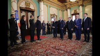 Presidente Danilo Medina tomó juramento a los nuevos jueces de la Suprema Corte de Justicia