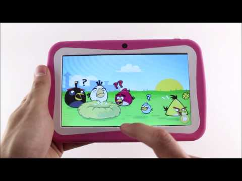 Kinder Tablet 7 inch - Pink Roze & Blauw Geeektech