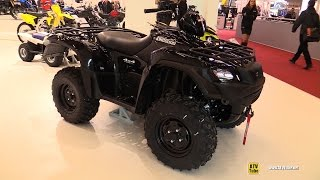 5. 2016 Suzuki Kingquad 750 Axi Recreational ATV - Walkaround - 2015 Salon de la Moto Paris