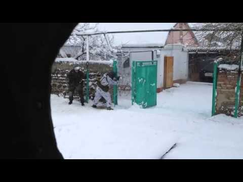 "SOBR & OMON ""Zubr"". Dagestan. Winter. in action 2014 Part1"