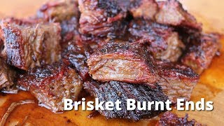 Brisket Burnt Ends | Smoked Beef Brisket and Burnt Ends on Ole Hickory