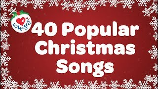 The TOP 40 Christmas Carols playlist with sing along lyrics, featuring over an hour and a half of popular Christmas music. This playlist is sure to fill your heart ...