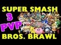 Super Smash Bros Brawl 3 Player Battle