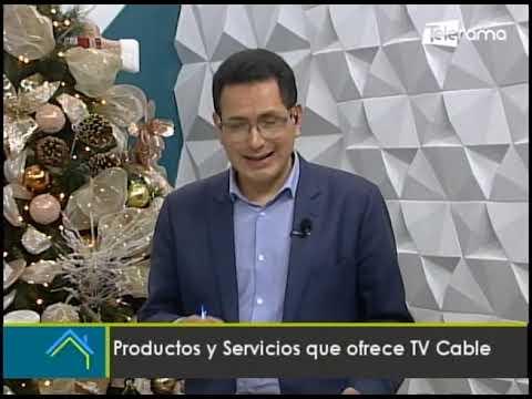 Productos y servicios que ofrece TV Cable