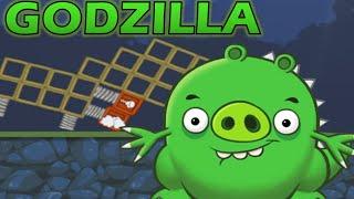 GODZILLA! - Bad Piggies Iventions