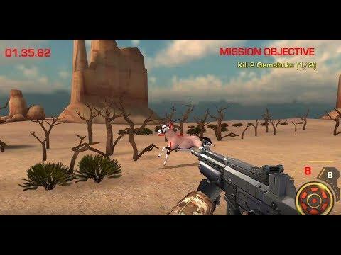 《荒野動物狩獵》手機遊戲玩法與攻略教學!
