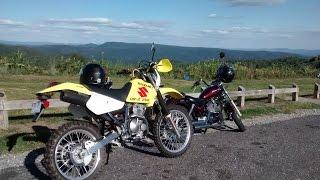 9. Backroad Riding: Street legal DR-Z 250 pt1