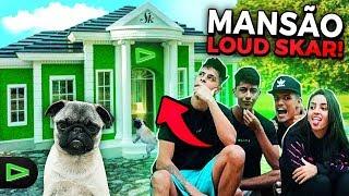 LOUD SKAR! CONSTRUINDO UMA MANSÃO DOG LOUD PRA ELA!!!