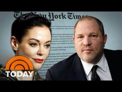 Actress Rose McGowan Details Rape Allegation Against Harvey Weinstein | TODAY