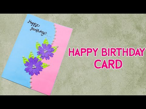 Birthday wishes for best friend - Beautiful Handmade Birthday Card Idea  Birthday Card For Best Friend
