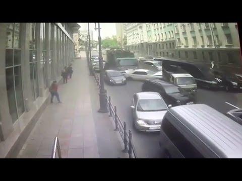 Массовая авария во Владивостоке