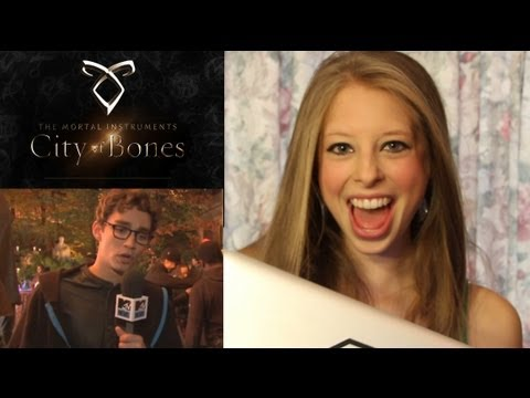 The Mortal Instruments: City of Bones (Set Visit)