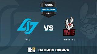 CLG vs Misfits - ESL Pro League S6 NA - de_train [sleepsomewhile, MintGod]