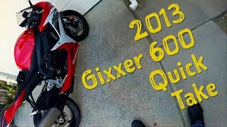 3. 2013 Suzuki GSX-R600 review video