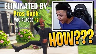Video When Fortnite Pro Players Get Outplayed (Ninja, Tfue, Myth & More!) MP3, 3GP, MP4, WEBM, AVI, FLV Desember 2018